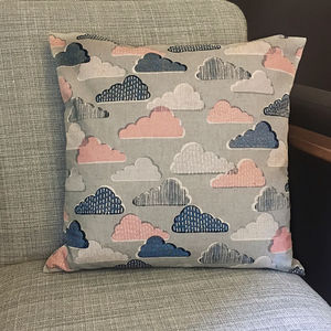 Rainy Days Cloud Cushion - cushions