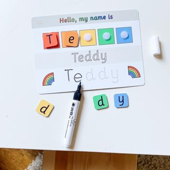 Personalised Childrens School Name Mat