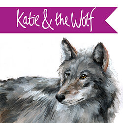 Katie & the Wolf logo