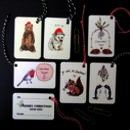 Pack Of Six Luxury Assorted Gift Tags