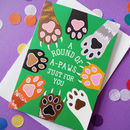 Funny Cat Well Done Congratulations Card