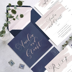 Wedding Stationery The Amelia Collection - invitations