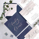 Wedding Stationery The Amelia Collection