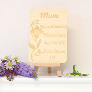 Personalised Postcard Keepsake For Mum - mother's day cards