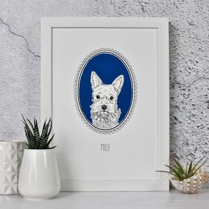 Cameo Pet Portraits - drawings & illustrations