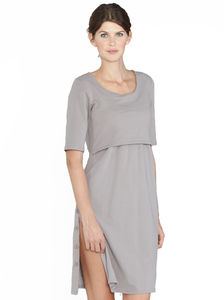 Maternity And Breastfeeding Nightie - women's fashion