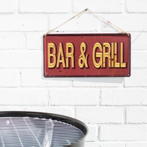 Bar And Grill Wall Sign