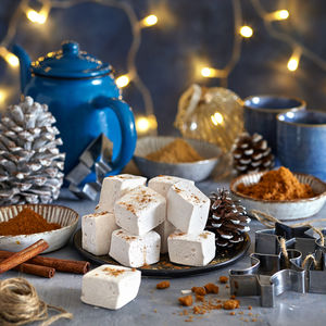 Gingerbread Gourmet Marshmallow - stocking fillers