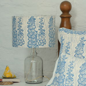 Foxglove Glass Bottle Table Lamp - table lamps