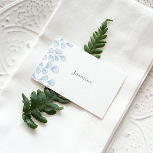 Fern Place Cards