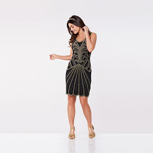 Roaring 20s Inspired Flapper Dress - women's fashion