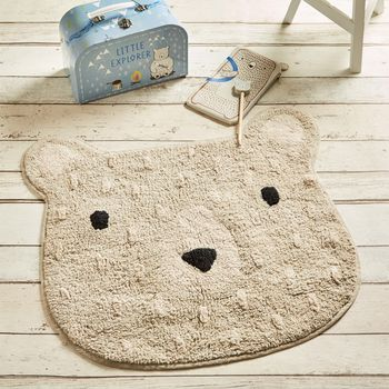 Bear Camp Cotton Rug
