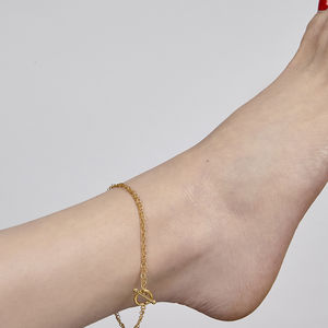 Heston Gold Anklet