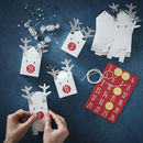Fill Your Own Advent Calendar Boxes Reindeer