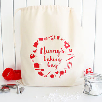 Personalised Baking Accessory Bag