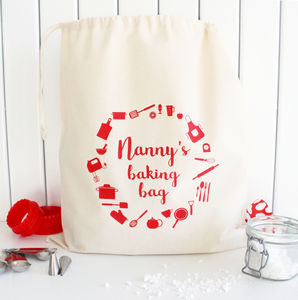 Personalised Baking Accessory Bag - baking