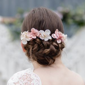 Ella Hydrangea Hair Pin - wedding fashion
