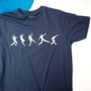 Cricket Spin Bowling T Shirt - men's fashion