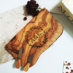 Olive Wood Chopping Board - kitchen