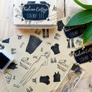 Fashion College Stamp Set Gift