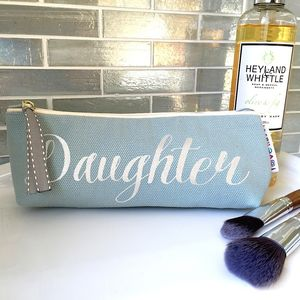 Personalised 'Duck Egg' Glitter Slim Case - glasses cases