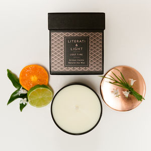 'Lost Time' Orange Blossom Luxury Soy Candle