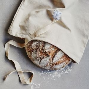 Reusable Cotton Bread Bags - natural materials