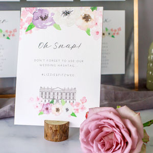 Midsummer Wedding Table Sign - room decorations