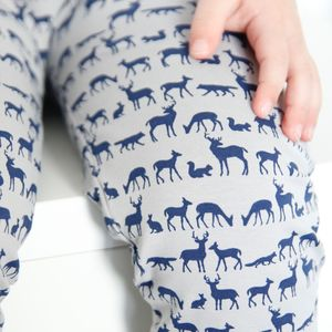 Nordic Forest Child And Baby Leggings - babies' leggings