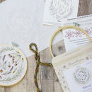 Wildwood Botanical Embroidery Craft Kit