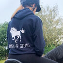 Child's Personalised Horse And Rider Hoodie