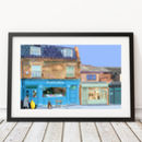 Froth And Rind, Walthamstow Village Illustration Print