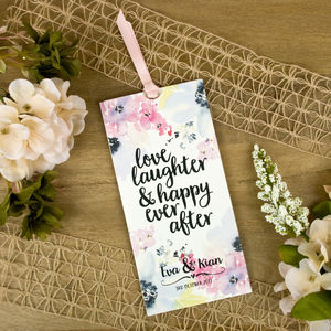 Floral Bloom Wallet Wedding Invitation