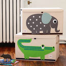 Applique Animal Storage Toy Chest