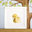 Inky Duckling Illustration Print