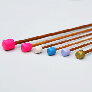 Multicoloured Customised Knitting Needle Set - knitting kits