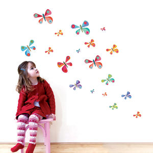 Childrens Butterfly Wall Stickers - what's new