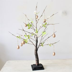Blossom Tree With Gold Polka Dot Eggs