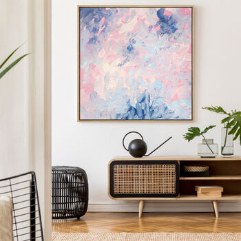All The Pinks, Drop Shadow Framed Wall Art