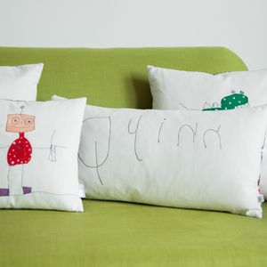 Your Child's First Hand Writing On A Cushion - personalised
