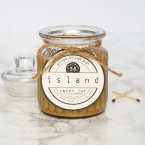 Gingerbread Man Scented Soy Candle