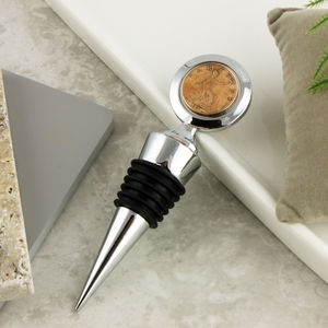 Farthing 90th 1927 Coin Bottle Stopper - summer sale