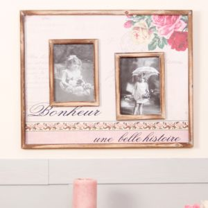 Vintage Floral Wall Photo Frame