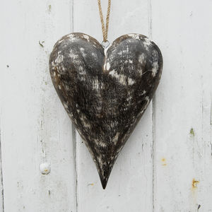 Fair Trade Mango Wood Heart