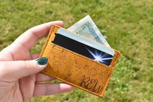 Cork Card Holder Wallet