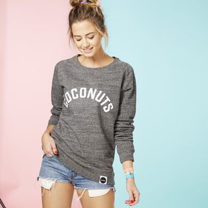 Coconuts Organic Cotton Blend Sweatshirt, Slate - sweatshirts & hoodies