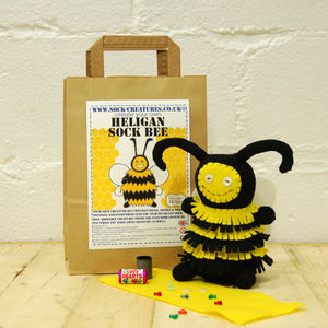 Sock Bee Craft Kit