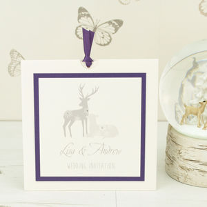 Cupid Wedding Invitation