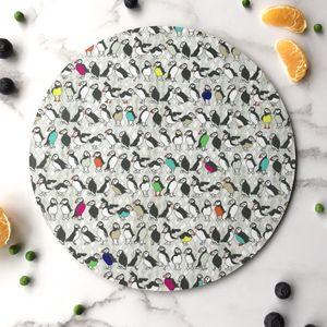 Placemat Puffins - tableware