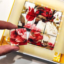 Red Floral Vegan Mosaic Biscuit Bonbons Gift Box9